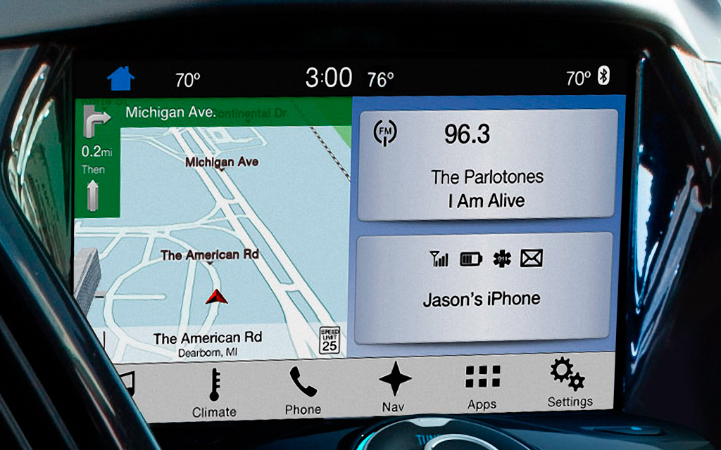 ford sync 3 oem eu navigation system sweden car performance. Black Bedroom Furniture Sets. Home Design Ideas