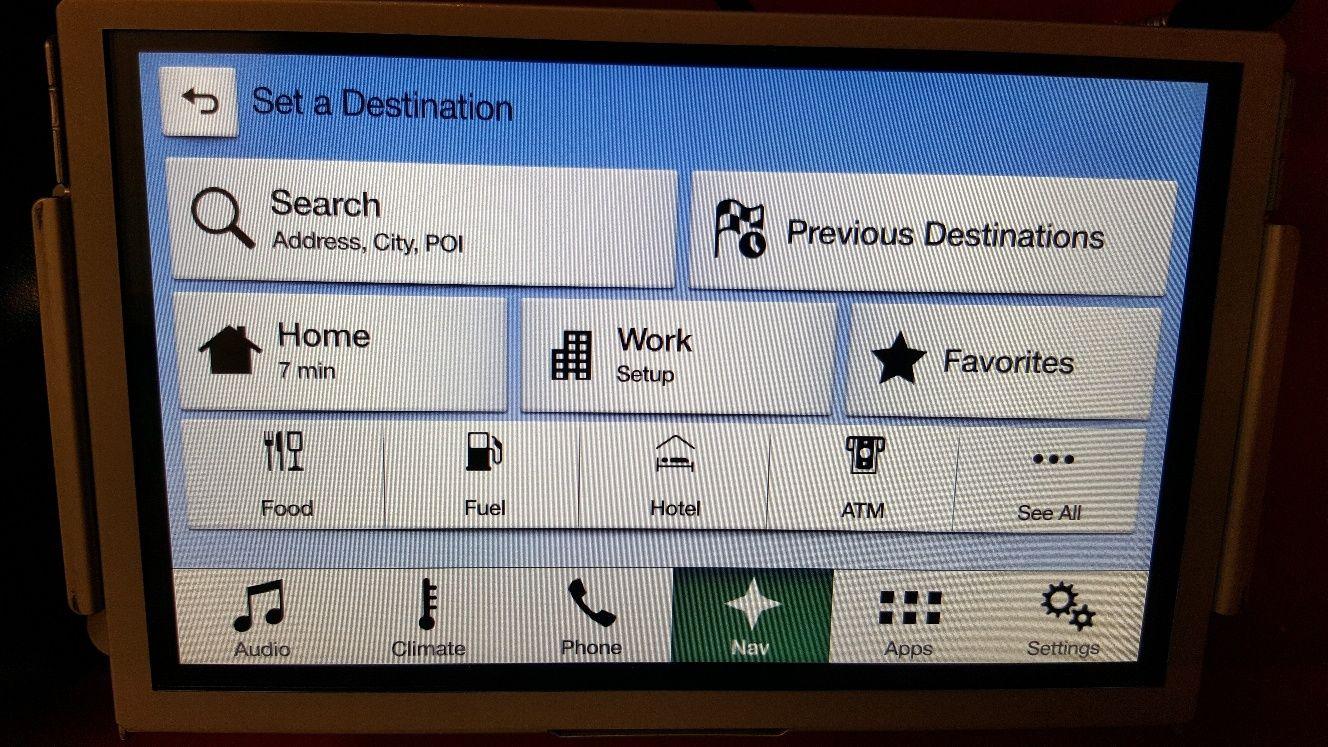 ford sync 2 to sync 3 navigation upgrade usa sweden car. Black Bedroom Furniture Sets. Home Design Ideas