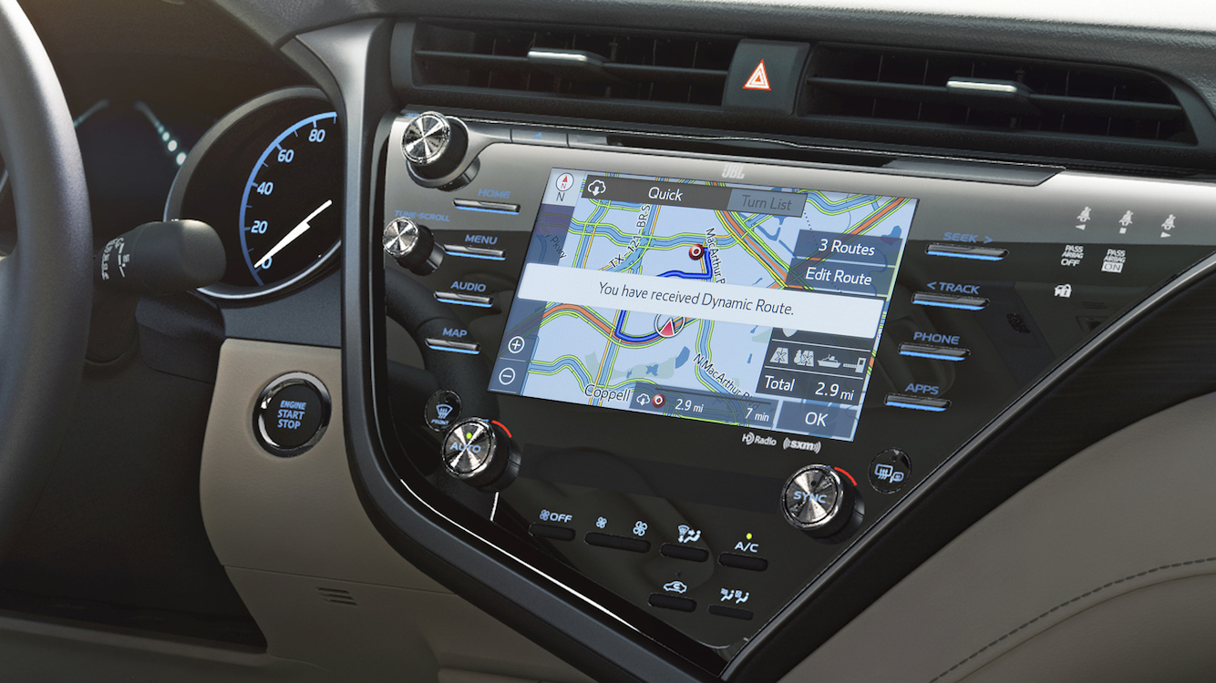 CAMRY ENTUNE 3 2018-UP EUROPE NAVIGATION EXTENSION