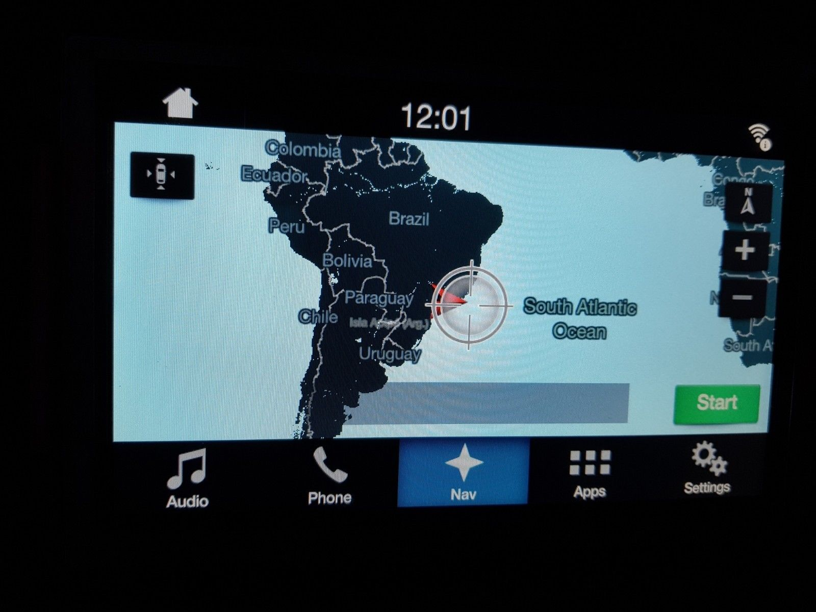 FORD SYNC 2 TO SYNC 3 NAVIGATION UPGRADE SOUTH AMERICA