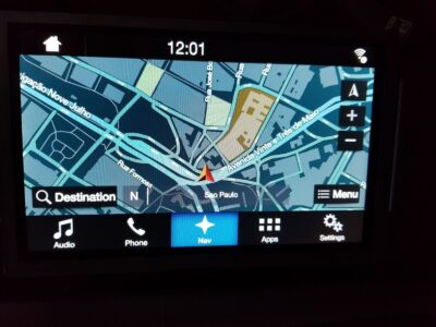 Ford Sync 3 Navigation Update